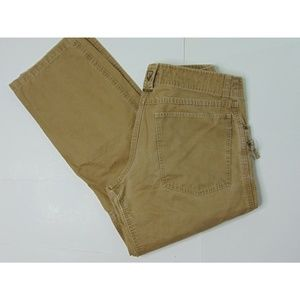 Kuhl 32 X 30 Hiking Pants Brown Zipper Straight